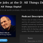 iTunes - Podcasts - Steve Jobs at the D- All Things Digital Conference (Video) by D- All Things Digital