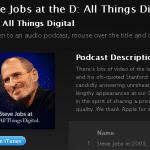 All Things Digital เปิดให้ดาวน์โหลดวิดีโอสัมภาษณ์สตีฟ จ็อบส์ทั้งหมดฟรี !!