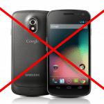 หนักกว่าเดิม! แอปเปิลชนะคดีห้ามซัมซุงขายโทรศัพท์ Galaxy Nexus ในสหรัฐ