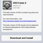 แอปเปิลอัพเดต iOS 6 เป็นเวอร์ชัน Beta 3 แล้ว