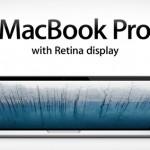 ลือแอปเปิลเตรียมเปิดตัว MacBook Pro Retina ที่บางกว่าเดิมในงาน WWDC