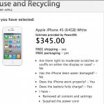 ใกล้เต็มทน !! แอปเปิลเปิดโปรแกรมรับซื้อ iPhone 4S คืนแล้ว