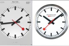 Clock in iOS 6