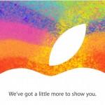 มาแน่แล้ว !! แอปเปิลออกบัตรเชิญสื่องานเปิดตัว iPad Mini วันที่ 23 ต.ค.นี้แล้ว