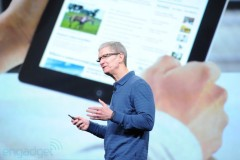Tim Cook talked about iPad success