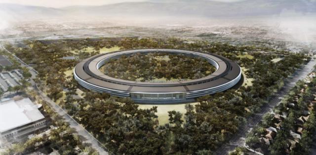 Apple Mothership - New HQ