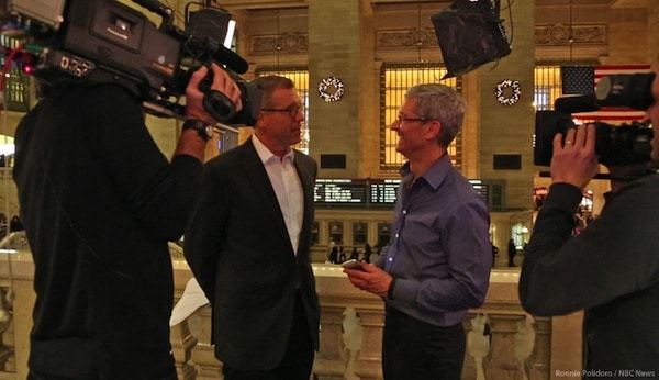 Tim Cook on Rock Center
