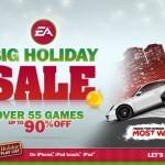EA ประกาศลดราคาเกมส์บน iOS ฉลองคริสมาสต์ Fifa 13, Need for Speed ลดเหลือ $0.99