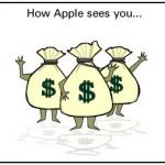 รวมภาพ Apple, Google, Microsoft, Facebook, Twitter เห็นพวกเราเป็นตัวอะไร ?