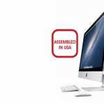 iMac รุ่นใหม่บางส่วนประกอบในประเทศอเมริกา