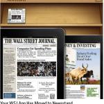 หนังสือพิมพ์ Wall Street Journal ลง Newsstand แล้ว