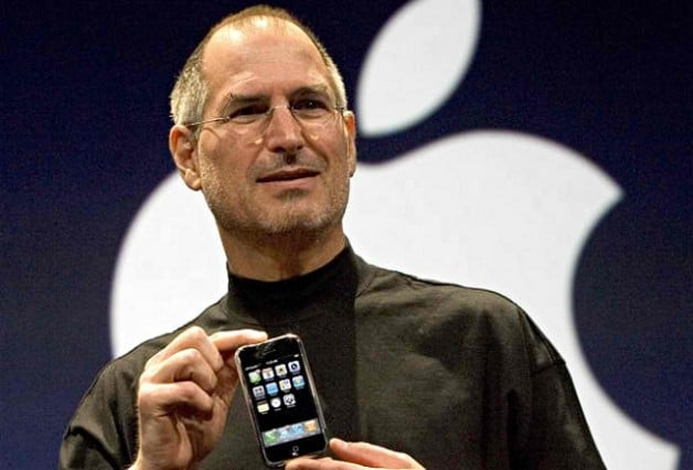 Steve Jobs and iPhone in 2007