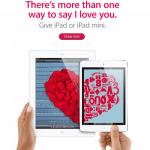 Apple online TH ปรับหน้าเว็บแนะนำของขวัญวันวาเลนไทน์