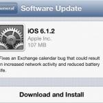 Apple ปล่อยอัพเดต iOS 6.1.2 ออกมาแล้ววันนี้