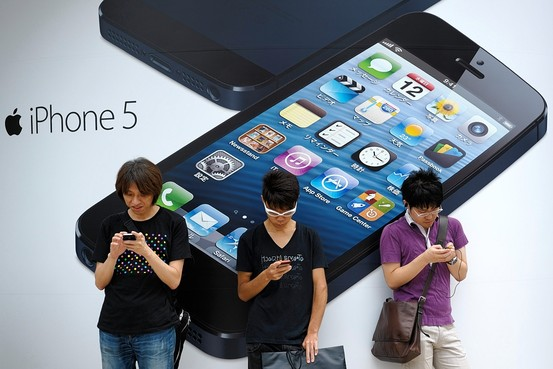 iPhone 5 launched in Tokyo