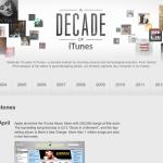 ย้อนประวัติศาสตร์ 1 ทศวรรษ iTunes Store