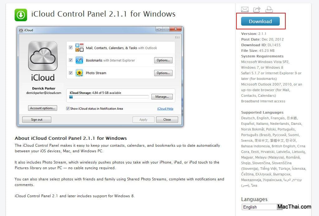 ขั้นตอนและวิธีการ Sync รูปจาก iPhone, iPad มาลงเครื่อง Windows ผ่าน