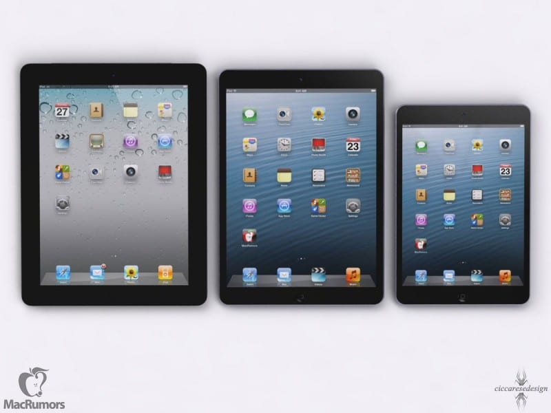 Mockup iPad 5