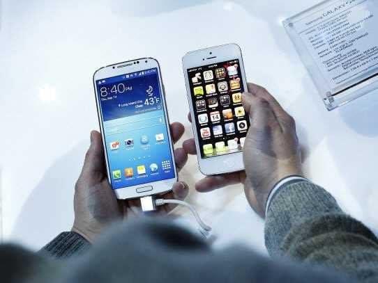 S4 vs iPhone 5