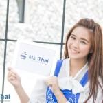 MacThai Model of the Month – ภูเขา สายลม ไอแพด กับน้องเดียร์