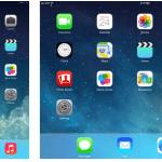 รวมภาพหน้าตาใหม่ของ iOS 7 บน iPad ดูความเปลี่ยนแปลง กับหน้าจอการใช้งานแบบใหม่