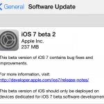 แอปเปิลออกอัพเดต iOS 7 Beta 2 ให้นักพัฒนาแล้ว มีสำหรับ iPad, iPad Mini ด้วย