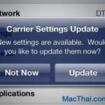 แอปเปิลออกอัพเดตข้อมูลเครือข่ายไทย รองรับ 4G, เปลี่ยน 520xx เป็นชื่อเครือข่ายแล้ว