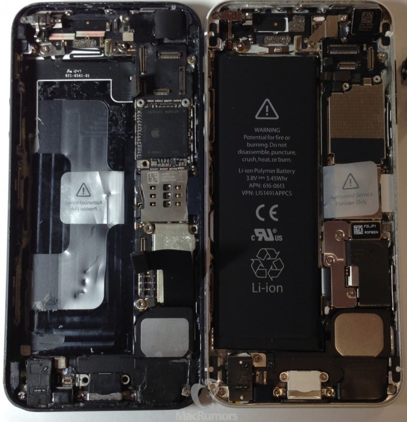 iPhone 5S backside more detail