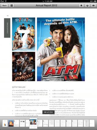 Thai Stock Annual Report