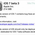 แอปเปิลออกอัพเดต iOS 7 Beta 3 ให้นักพัฒนาแล้ว มีการเปลี่ยน UI พอสมควร