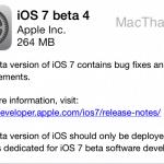 แอปเปิลออกอัพเดต iOS 7 Beta 4 ให้นักพัฒนาแล้ว คาดตัวจริงเปิดให้อัพเดต ก.ย.