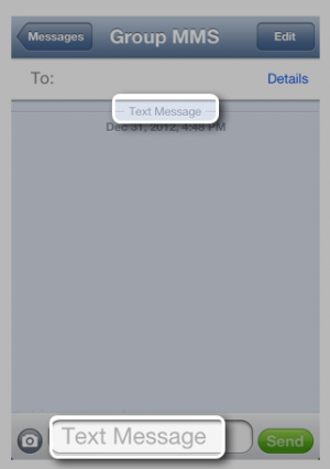 text-message-in-iphone