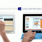 โฆษณาใหม่แท็บเล็ต Surface RT ของ Microsoft ยังคงแซะ iPad ต่อเนื่อง