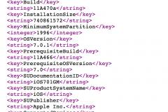 XML OTA iOS 7