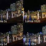 ภาพถ่ายจากกล้อง iPhone 5s เปรียบเทียบกับ HTC One, Lumia 1020, Galaxy S4
