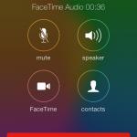 [iOS 7 Tips] โทรหากันผ่านเน็ตด้วย FaceTime Audio