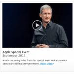 แอปเปิลเปิดให้ดาวน์โหลดวิดีโอ Keynote งานเปิดตัว iPhone 5S, 5C ได้แล้ว