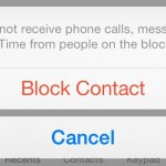 วิธีการบล็อคเบอร์โทรศัพท์และ SMS ที่เราไม่ต้องการบน iPhone