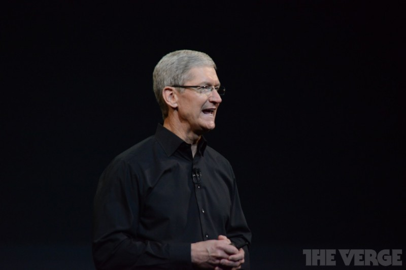 Tim Cook in Keynote