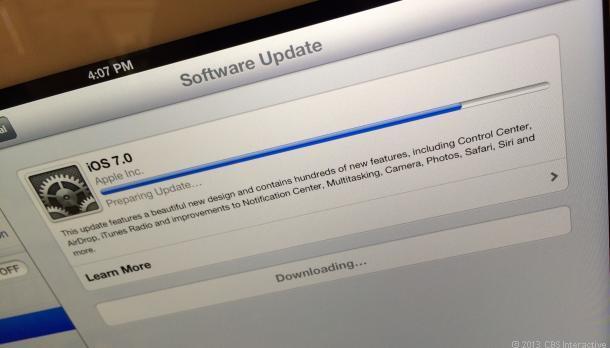 iOS Upgrading