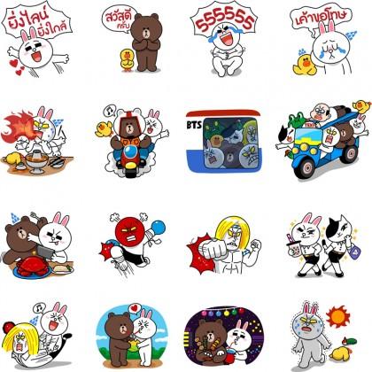 line-first-sticker-in-thailand