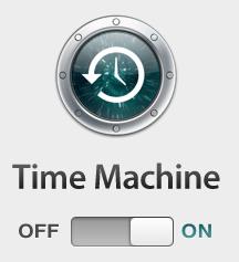 time machine mavericks