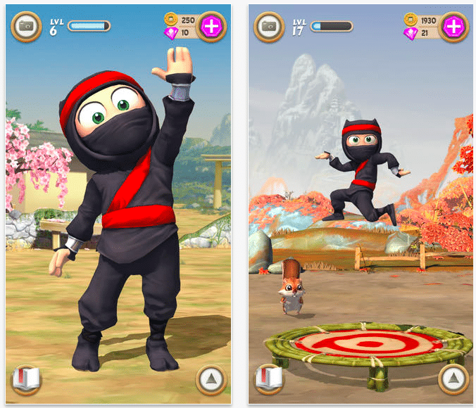Clumsy-Ninja-By-NaturalMotion-launch-on-app-store
