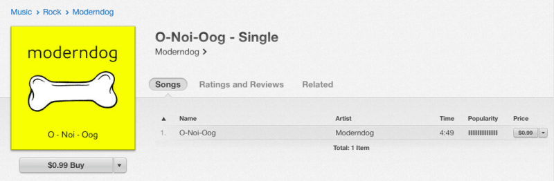 modern-dog-o-noi-oog-single-itunes-store-thailand