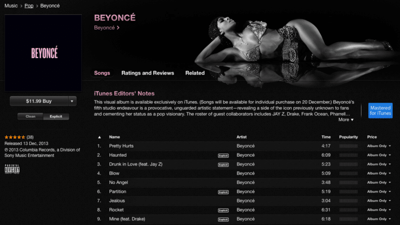 beyonce-release-vitual-exclusive-album-on-itunes-lp4