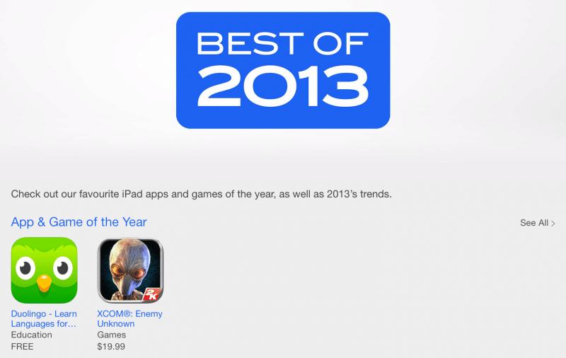 iPad Best of 2013