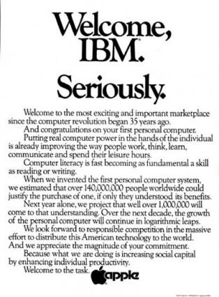 apple-welcome-ibm