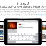 Apple ประกาศเปิดตัว iTunes U Course Manager ในไทยแล้ว