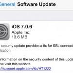 แอปเปิลออกอัพเดต iOS 7.0.6 แก้ปัญหาความปลอดภัยในการใช้งาน