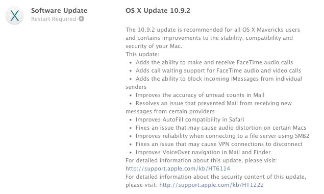 os-x-mavericks-update-10-9-2-list
